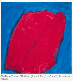 Madison Prince Untitled blue red