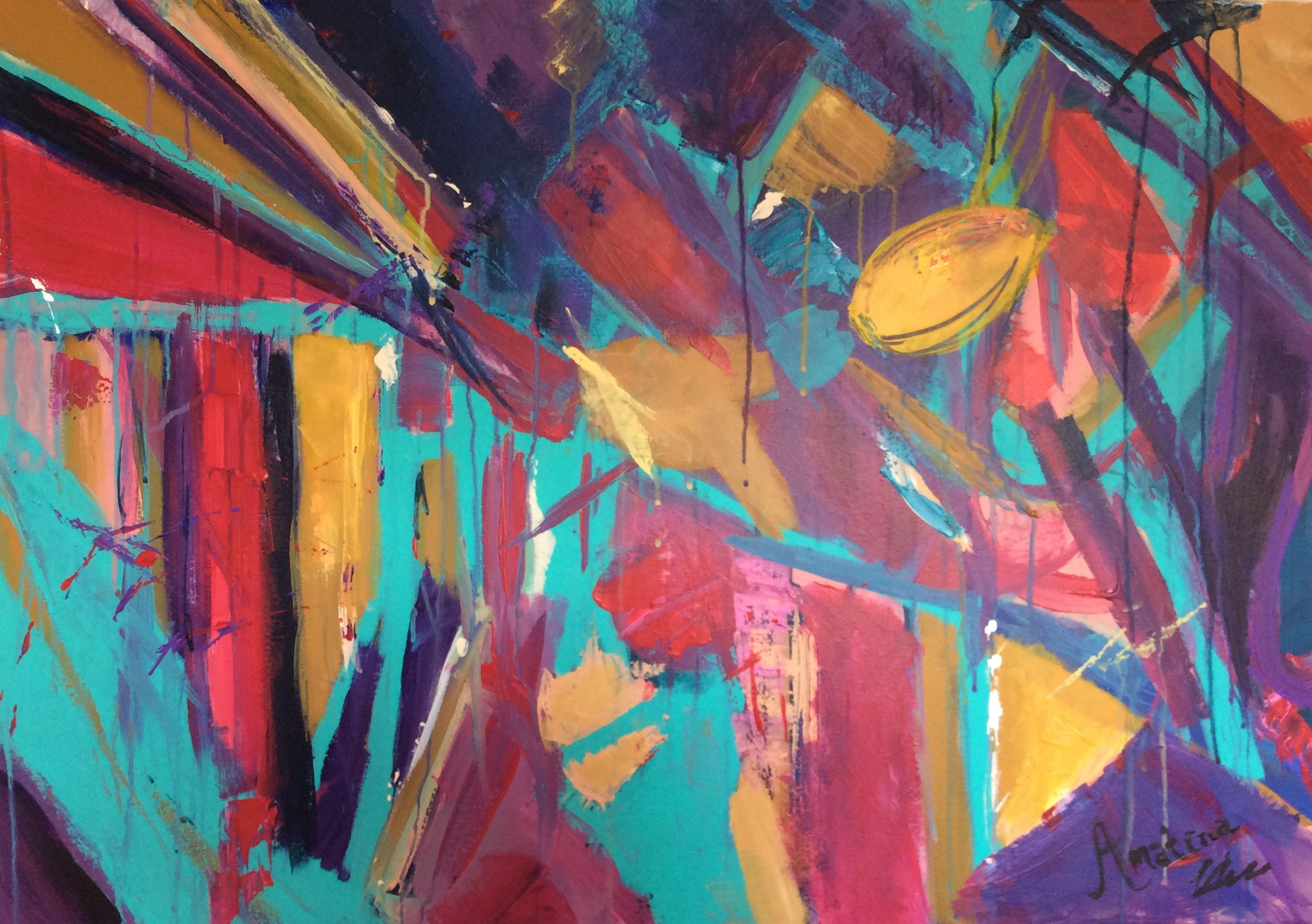 Mhaf Featured Artist Mahlia Amatina The Abstract