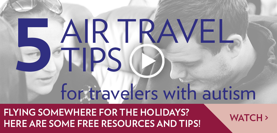 5 Air Travel Tips for Travellers with Autism